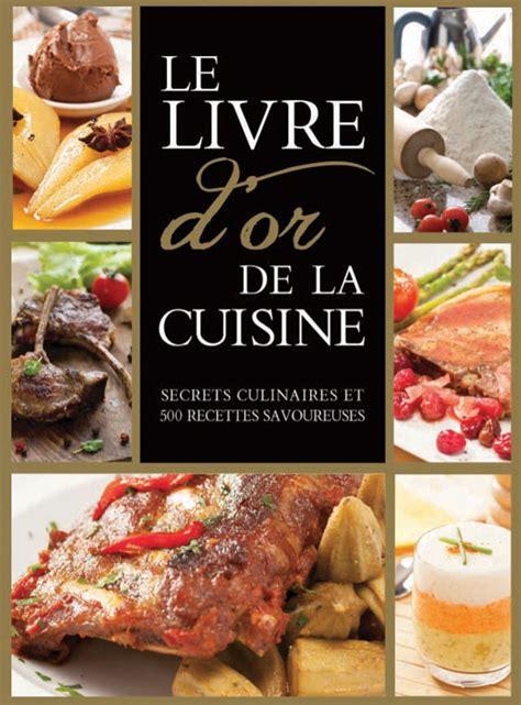 le livre d or de la cuisine goelette international