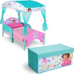 delta children canopy toddler bed nick jr the explorer ebay