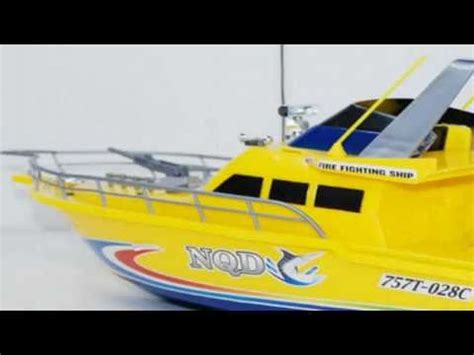 Rc Fire Boat Youtube by Rc Fire Boat Remote Control With Working Water Pump