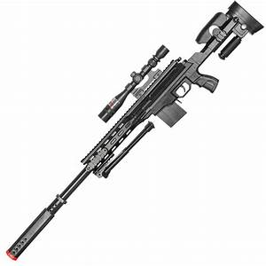 P2668 Tactical Spring Airsoft Sniper Rifle With Scope and ...
