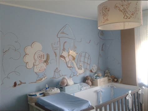 chambre deco idee deco mur chambre bebe garcon