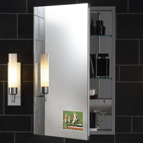 Robern Medicine Cabinet M Series by Robern M Series Flat Plain Mirror Cabinet With