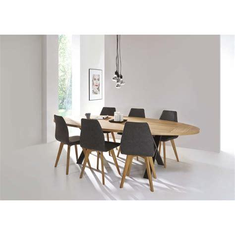 table de salle 224 manger cross ovale d 233 co en ligne tables de salle a manger design