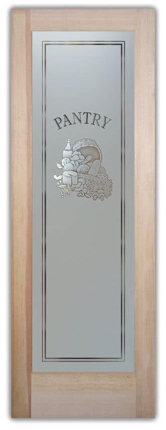 Pantry Doors With Glass  Frosted Custom Designs Sans
