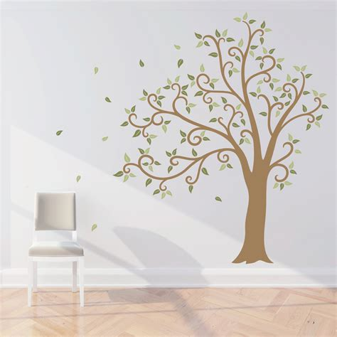wall decals tree 2017 grasscloth wallpaper