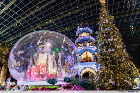 flower dome s decorations are up and it looks like a european thesmartlocal