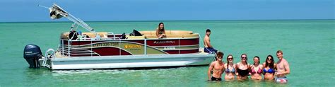 Party Boat Fishing Clearwater Beach Fl by Pontoon Boat Rental Ta Bay Area Canoe And Kayak