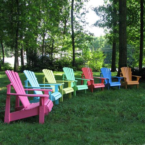 weathercraft designers choice painted adirondack chair