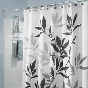 Duschvorhang Für Fenster : duschvorhang leaves eva kunststoff schwarz grau 182 x 182 cm ebay ~ Markanthonyermac.com Haus und Dekorationen