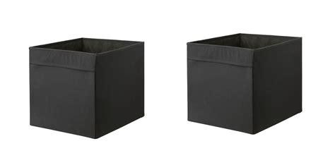 1 2 or 4x ikea drona storage box organiser expedit unit file orange blue ebay