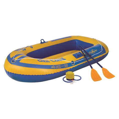 Inflatable Boat Kit by Stansport 2 Person Inflatable Boat Kit Ebay