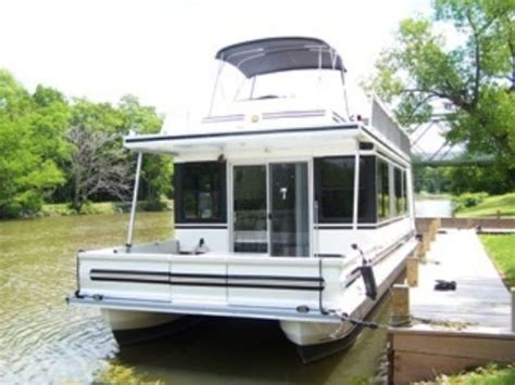 Catamaran Houseboat For Sale by 2003 Catamaran Cruisers Special Edition 41 Houseboat Used