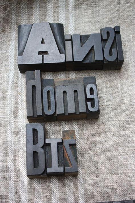 1000 id 233 es sur le th 232 me caract 232 res d imprimerie en bois sur blocs de lettre