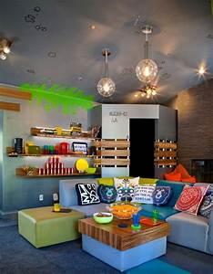 Gaming Zimmer Deko : cool coole wohnideen f r jugendzimmer und aufenthaltsraum f r teenager kinderzimmer ~ Markanthonyermac.com Haus und Dekorationen