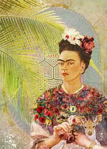 Frida Kahlo Kunstwerk : malereien ab 6 90 online bestellen gratisversand posterlounge ~ Markanthonyermac.com Haus und Dekorationen