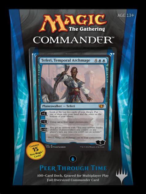 c14 commander 2014 teferi temporal archmage the rumor mill magic fundamentals mtg