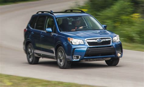 2016 Subaru Forester 20xt Test  Review  Car And Driver