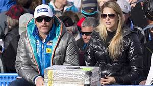Bode Miller beans wife with golf ball, almost puts her eye ...