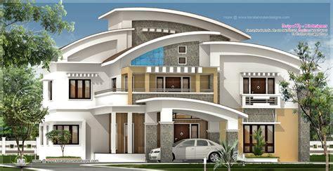 R It Designers (home Design In Kannur) : 3750 Square Feet Luxury Villa Exterior