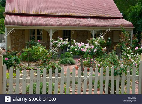 Cottage And Rose Garden In Yankalilla South Australia