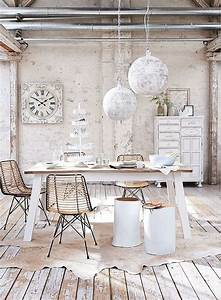 Shabby And Chic : 50 cool and creative shabby chic dining rooms ~ Markanthonyermac.com Haus und Dekorationen