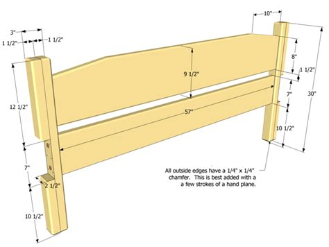 samsy king size bed free woodworking plans headboard