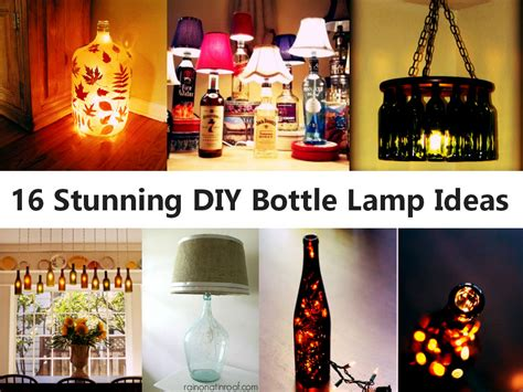 16 Stunning Diy Bottle Lamp Ideas Bathtub Drain Plug Sizes Baby Seat Suction Cups Singapore Review Glass Shower Doors Repair Cracked Tile Surround Images How To Fix Moen Faucet From Leaking Who Makes The Best Walk In