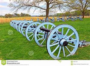 Cannons at Valley Forge stock image. Image of replica ...