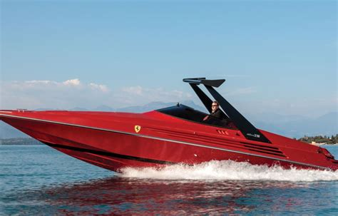 Ferrari Boat by This Is Literally The Ferrari Of Speedboats Business Insider