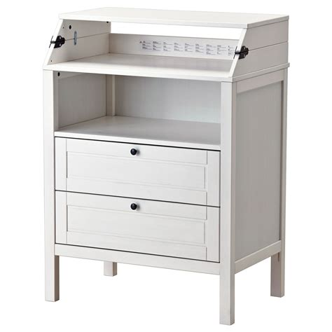 Sundvik Changing Tablechest Of Drawers White  Ikea. Tall Narrow Computer Desk. Chair With Arm Desk. Walnut Effect Desk. Benches For Dining Table. United Healthcare Employee Help Desk. Make Up Desks. Kitchen Drawer. Slanted Art Desk