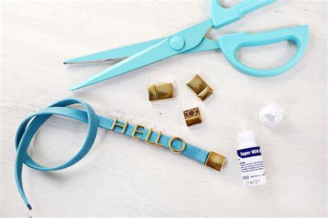 Make A Personalized Phrase Bracelet!