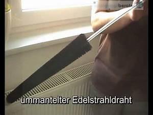 Heizkörper Reinigen Innen : heizk rperb rste bei youtube ~ Markanthonyermac.com Haus und Dekorationen