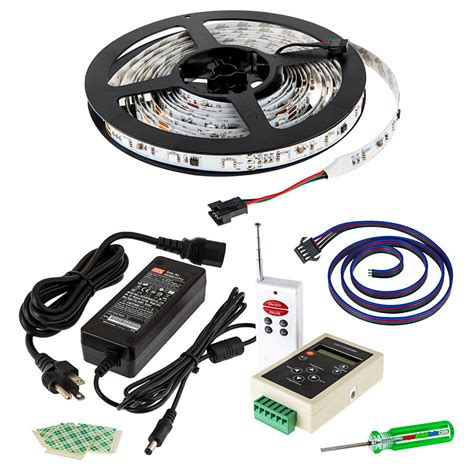 color chasing led light kit with multi color leds led light with 9 smds ft 3