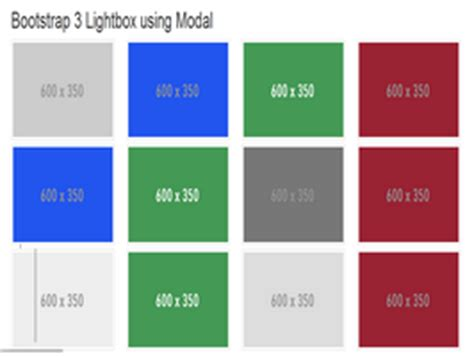 Bootstrap Snippet Bootstrap Gallery With Modal Lightbox