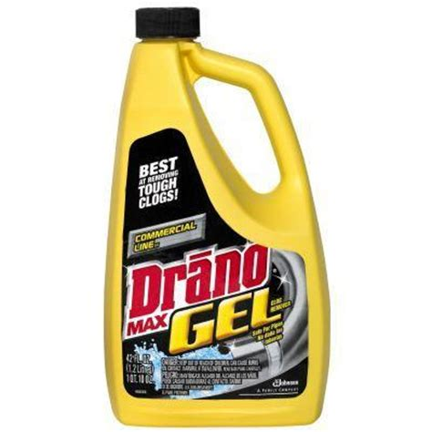 drano not working bathtub drano 42 oz drain max gel clog remover 22118 the home depot