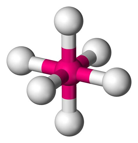 Octahedral Molecular Geometry Wikipedia