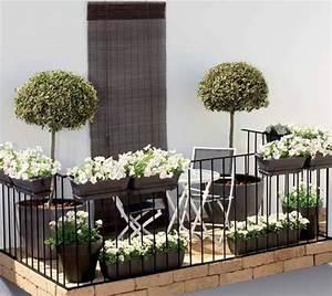 Ideen Zur Balkongestaltung : utilidad de las plantas en la decoraci n de balcones ~ Markanthonyermac.com Haus und Dekorationen