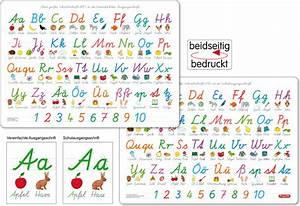 Schreibtisch 1 Klasse : fragenb r lernposter das abc mit gro und kleinbuchstaben buchstaben von a z zahlen von 1 ~ Markanthonyermac.com Haus und Dekorationen