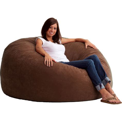 king 5 fuf comfort suede bean bag chair colors