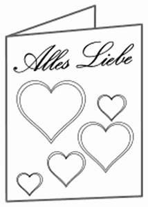 Geschenkkarten Zum Ausdrucken : liebeskarten zum ausdrucken und ausmalen ~ Markanthonyermac.com Haus und Dekorationen