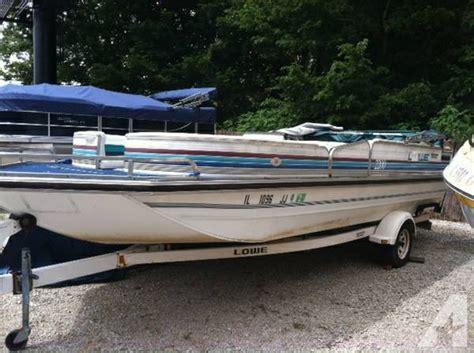 Deck Boat Job by 1992 Lowe Deck Boat For Sale In Hillsboro Illinois