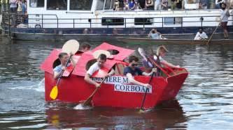 Cardboard Boat Videos by Cambridge University Cardboard Boat Race 2017 Youtube