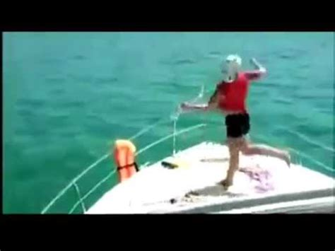 Drunk On A Boat by Drunk Dancing Dude Jumps Off A Boat Youtube