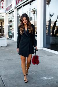 Black Tuxedo Dress