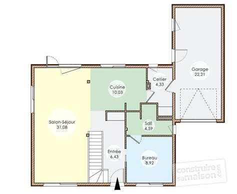 cuisine plan maisons contemporaines maison contemporaine plan gratuit maison contemporaine plan