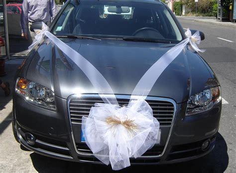 comment d 233 corer voiture mariage tulle