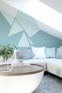 Wand Streichen Ideen Schlafzimmer : wand streichen muster und 65 ideen f r einen neuen look ~ Markanthonyermac.com Haus und Dekorationen