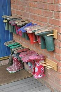 Schuhregal Für Kinder : selbermachen 35 coole schuhaufbewahrung ideen ~ Markanthonyermac.com Haus und Dekorationen