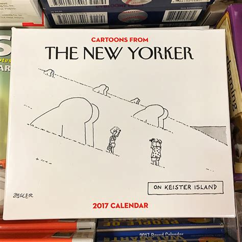 New Yorker Desk Diary 2017 by Attempted Bloggery From The New Yorker 2017 Calendar