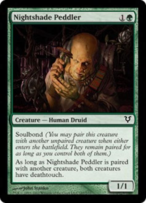 nightshade peddler magic card
